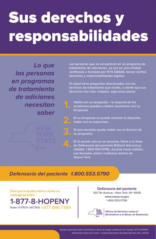 spanish-patient-advocacy-poster